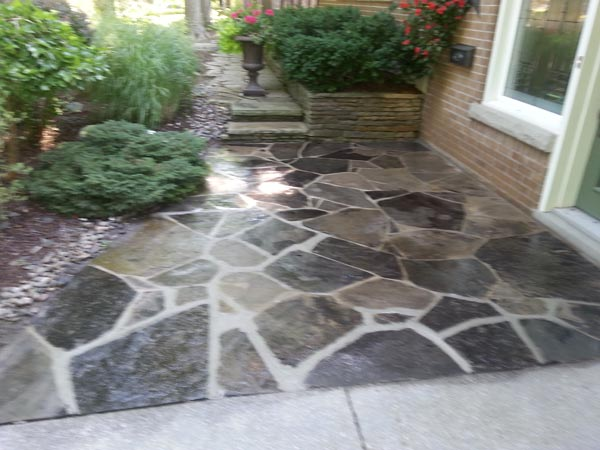Flagstone Sealing & Repair